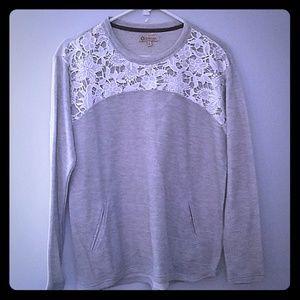 Democracy Lace Sweater.